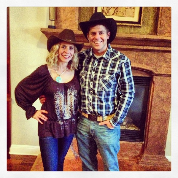 Vicky and Shawn Collins Head to the Giddy Up Gala in Austin, TX - February 2013