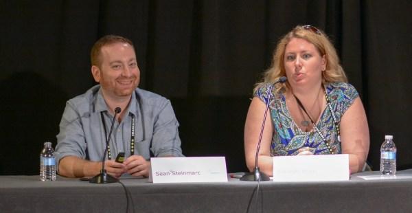 Sean Steinmarc and Amanda Blain at Affiliate Summit East 2016