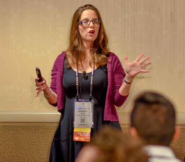 Stephanie Harris at Affiliate Summit East 2016