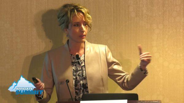 Monica Eaton at Affiliate Summit East 2016