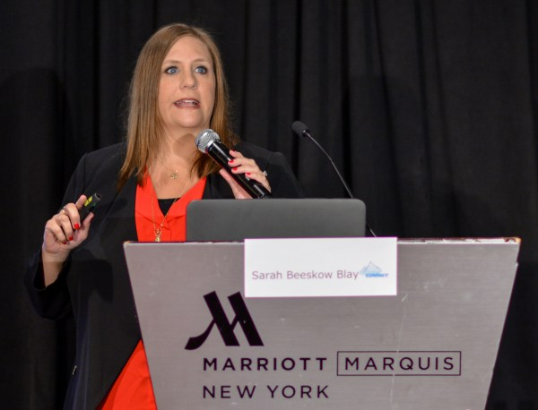 Sarah Beeskow Blay at Affiliate Summit East 2016