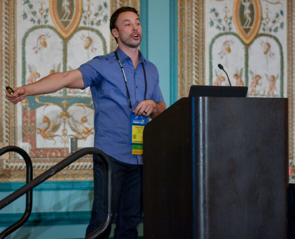 Jonah-kai Hancock at Affiliate Summit West 2017