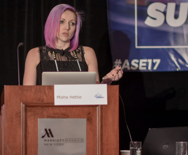 Misha Hettie at Affiliate Summit East 2017