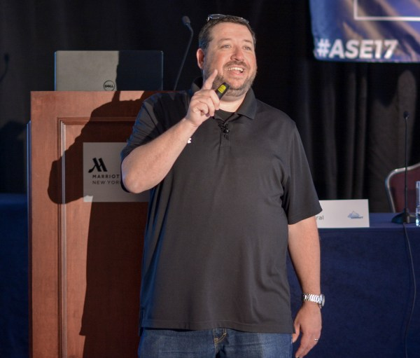 Jim Kukral at Affiliate Summit East 2017