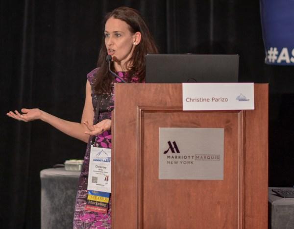 Christine Parizo at Affiliate Summit East 2017