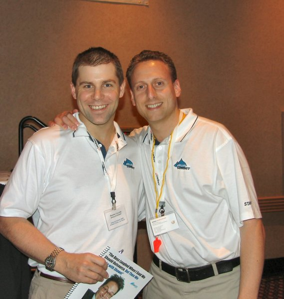 Shawn Collins and Corey Newhouse