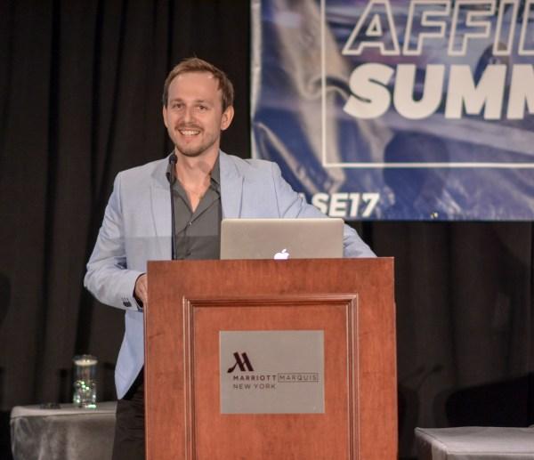 Alex Kapralov at Affiliate Summit East 2017