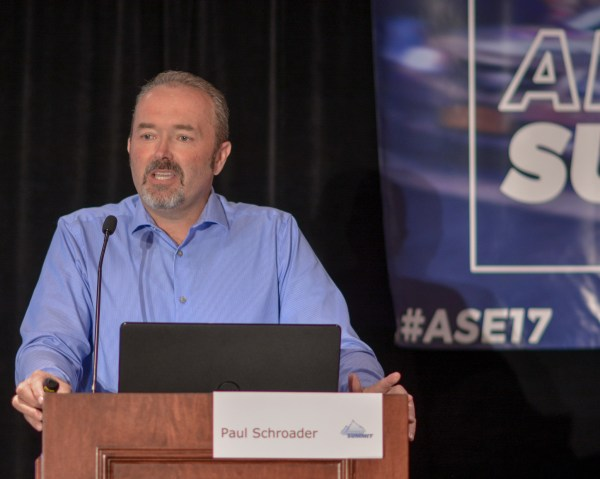 Paul Schroader at Affiliate Summit East 2017
