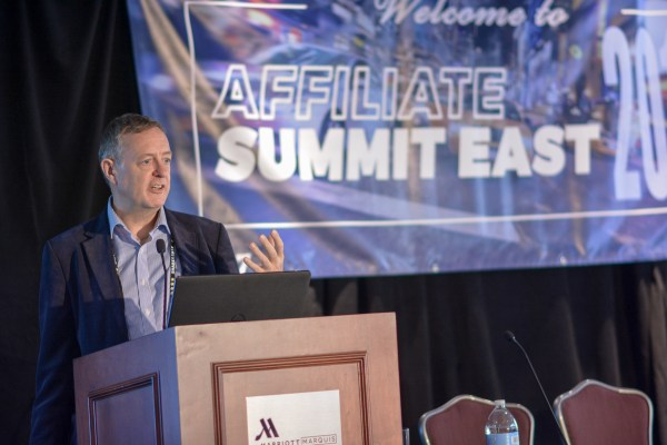 Chris Tradgett at Affiliate Summit East 2017