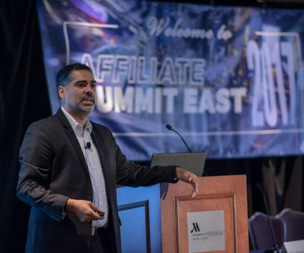 Mike Nunez at Affiliate Summit East 2017