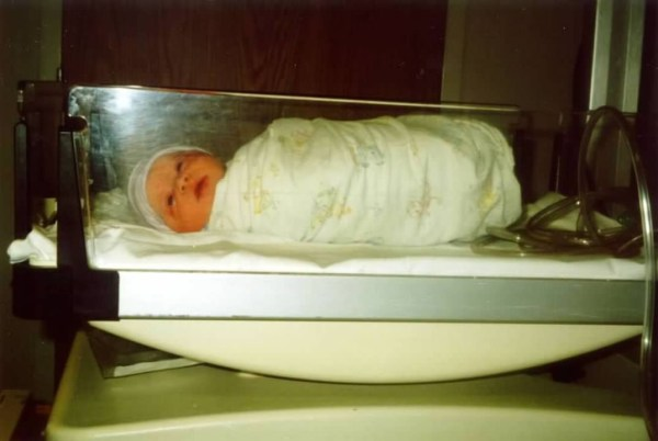 My daughter Lexie born weeks after September 11