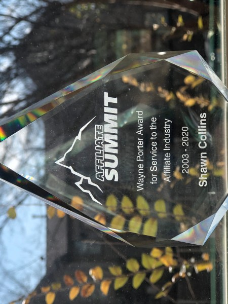 Wayne Porter Award for Service to the Affiliate Industry