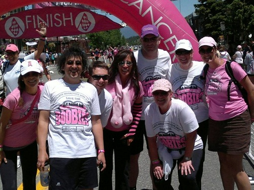 Avon Walk for Breast Cancer Rocky Mountains 2011 Finish Line