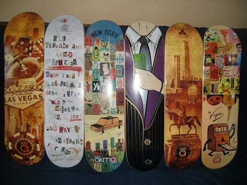 AKMG Skate Decks