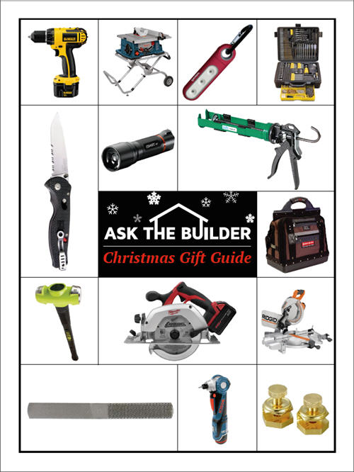 Ask the Builder Christmas Gift Guide