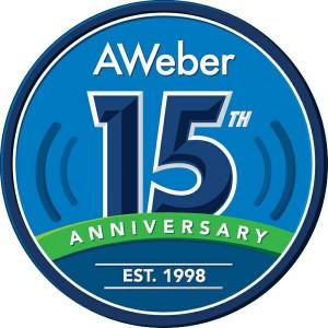 AWeber celebrates 15 years