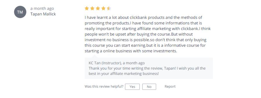 best affiliate marketing training