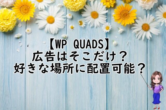 WP QUADS説明