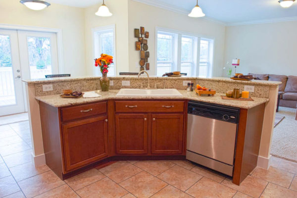 magnolia modular home kitchen