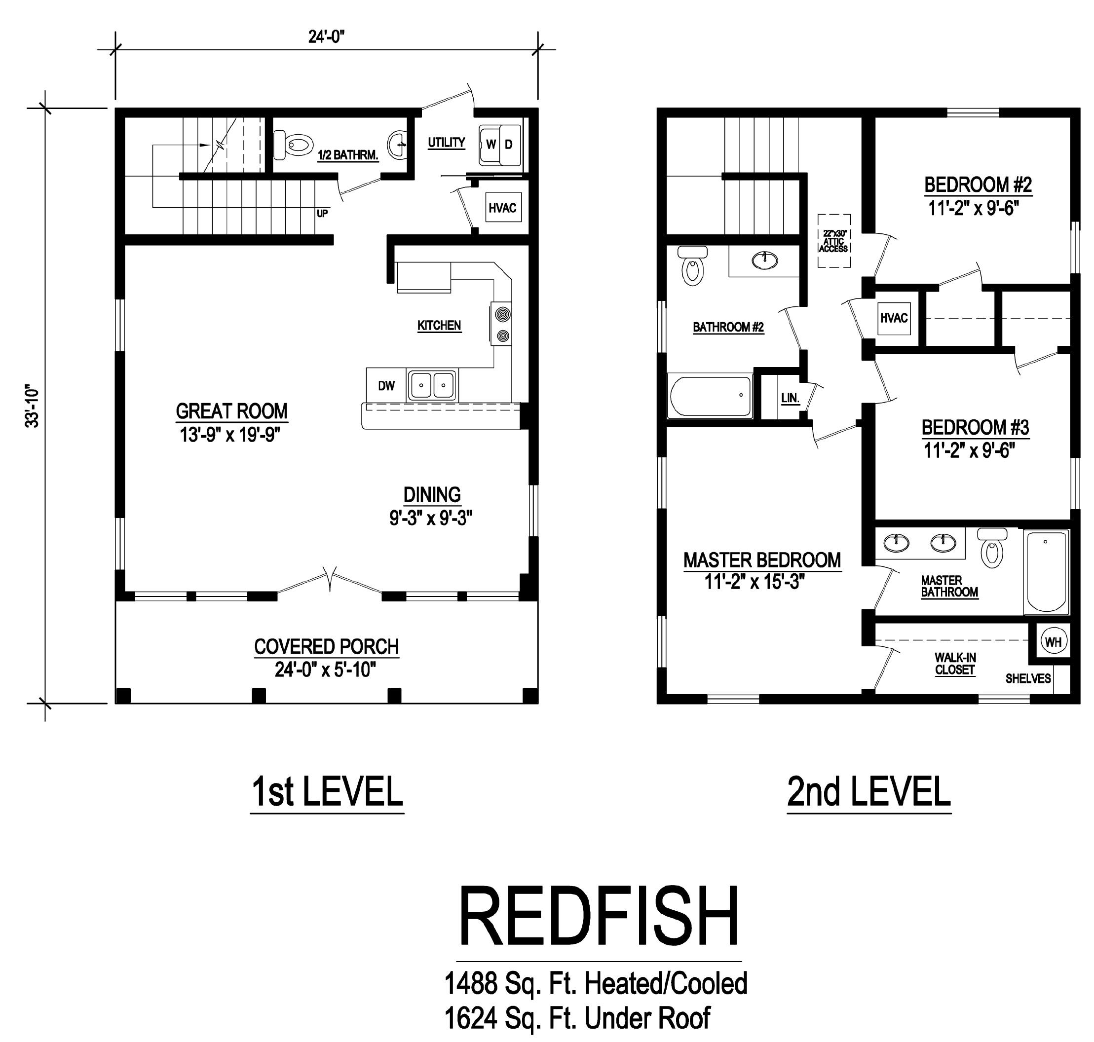 redfish modular home floorplan