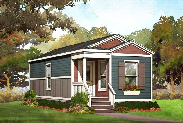 willow modular home floorplan