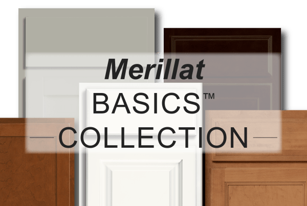 merillat cabinet collection graphic