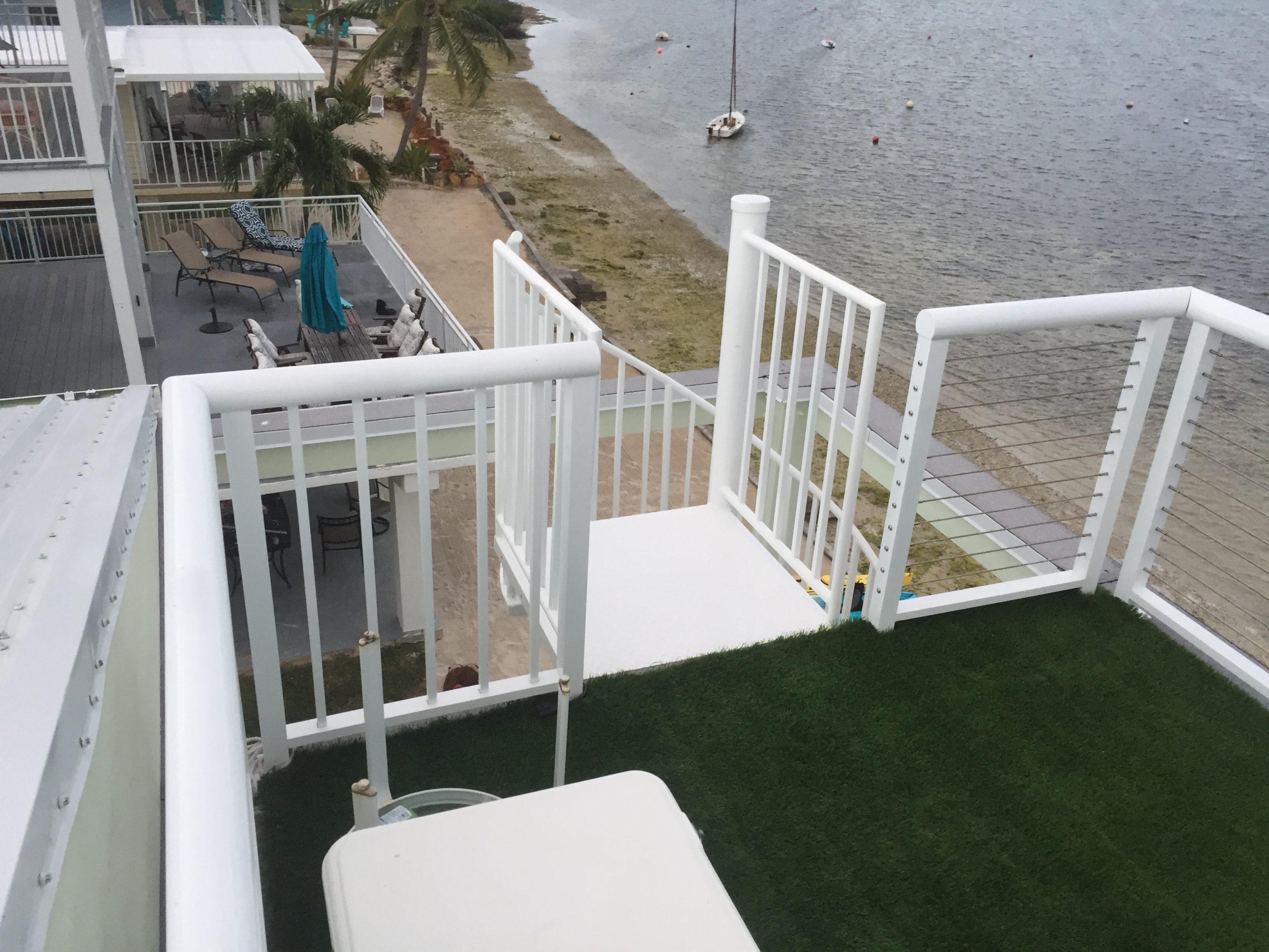 modular home custom patio