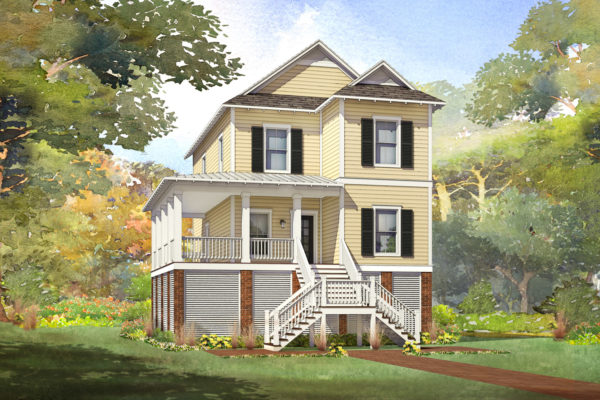 cedar ridge modular home rendering