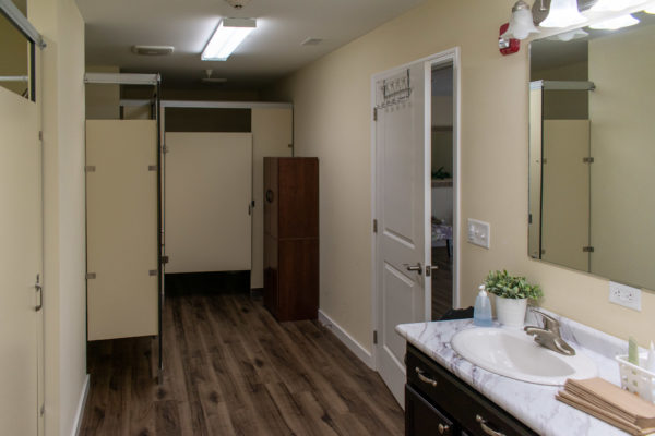heritage bible college modular dormitory bathroom