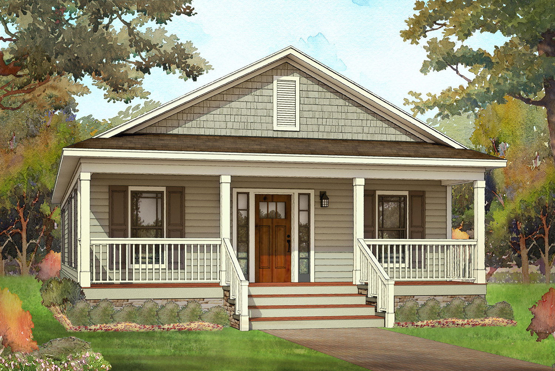 acadian craftsman modular home