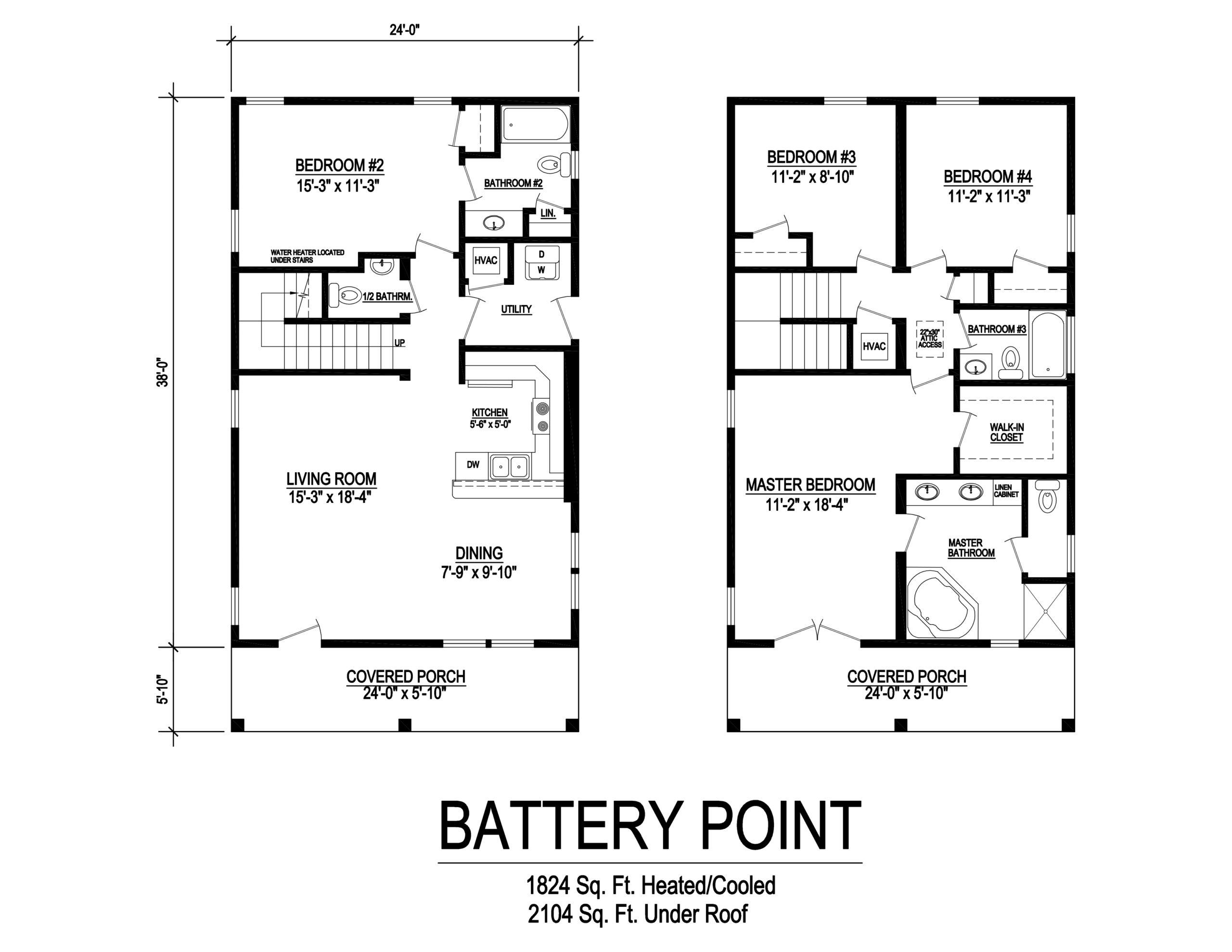 battery point modular home floorplan