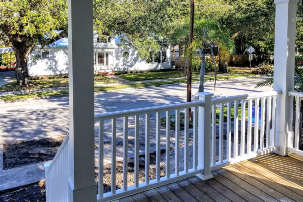 sapelo modular home porch
