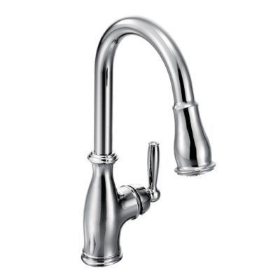 moen brantford chrome kitchen faucet