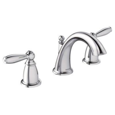 moen brantford chrome bathroom faucet