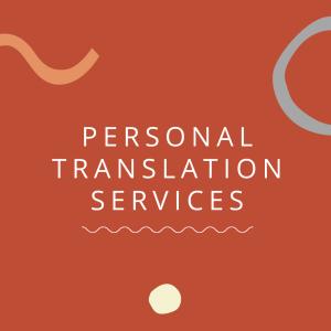 Personal Translation