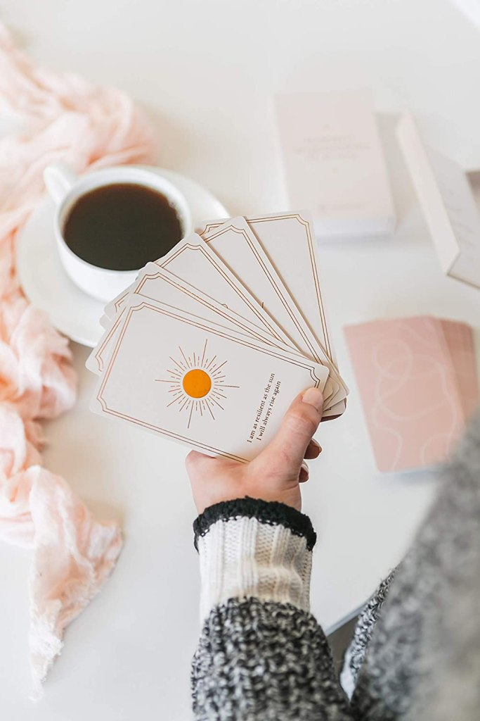 Positive Affirmation Deck for Dreamers by Modern Love