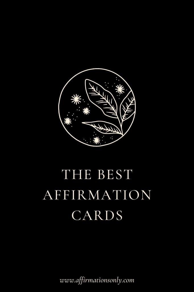 The Best Affirmation Cards for Every Situation