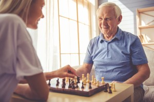 parents with alzheimers