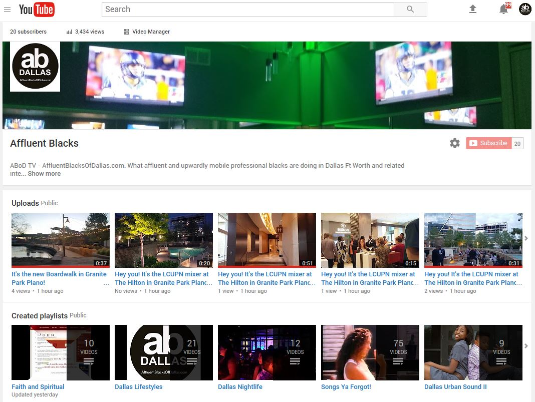 Have You Visited Our YouTube Channel Lately?