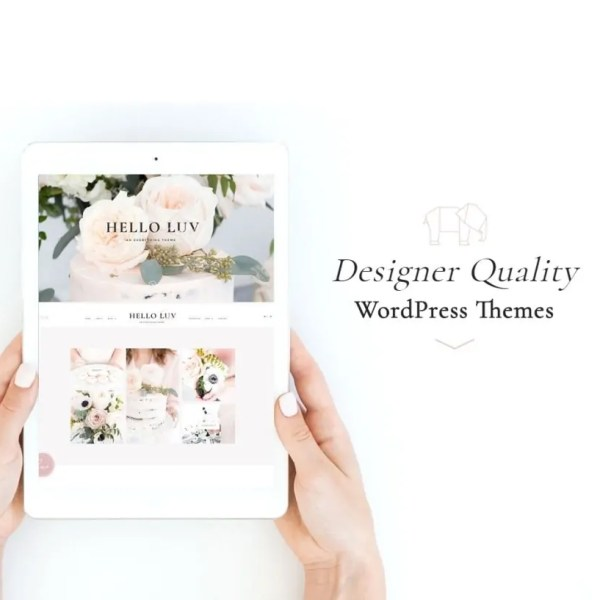 7 Feminine WordPress Themes Premium Terfavorit – Girly Classy Elegant