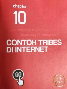 Buku The Internet Millionaire Andry Salim Chapter 10 Contoh Tribes di Internet
