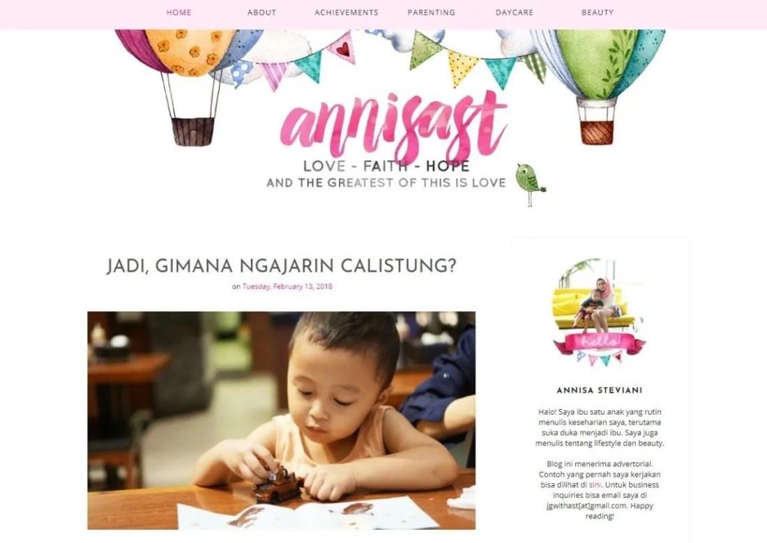 Blogger Perempuan Indonesia Annisast