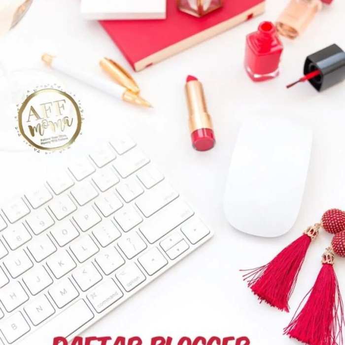 Daftar Blogger Perempuan Indonesia Inspiratif dengan Tulisan Keren & Design Stylist