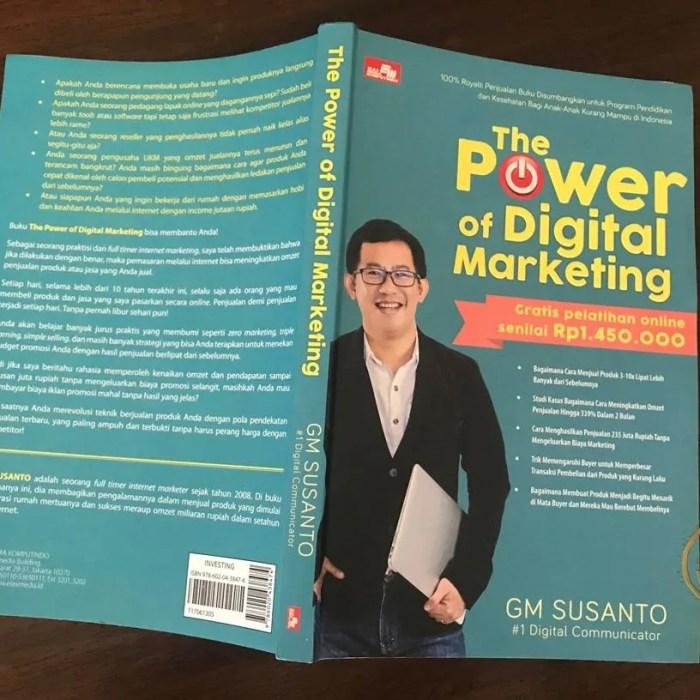 Review Buku The Power of Digital Marketing by GM Susanto