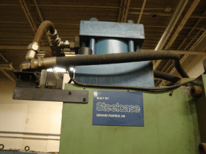 200 Ton Hydraulic Press Steelcase 2