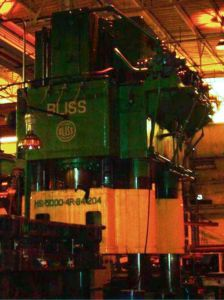 5000 Ton Bliss Hydrualic Press 3