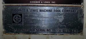 Giddings Lewis VTL pic 8
