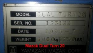 Mazak Dual Turn 20 pic 05
