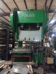 225 Ton Bliss Gap Frame Press (1)