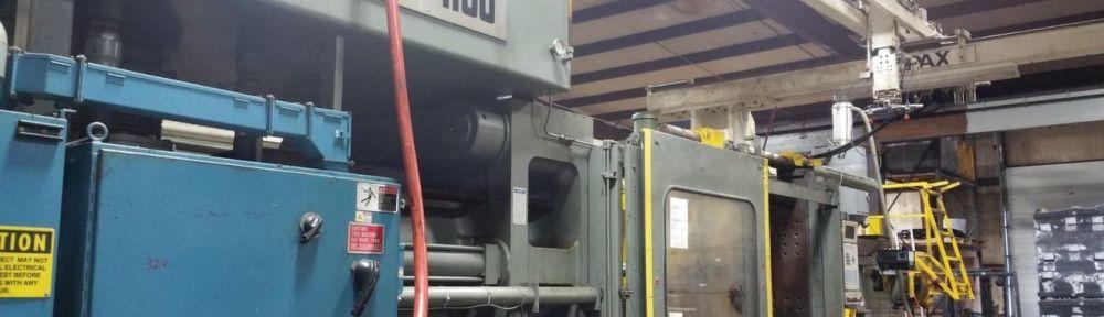 1100 Ton Van Dorn Plastic Injection Molding Machine For Sale